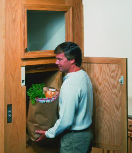 Elevator Solutions can help you plan and then will expertly install a dumbwaiter in your new construction or remodeling project.